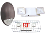 Emergency Lights Egress Tapes, Ballasts and Exit Sign Accessories