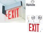 New York City Approved Exit Signs