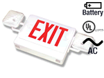 Self Testing Exit Signs