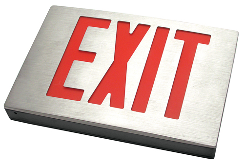New york city approved exit lighting signage - Fulham