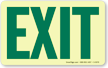 GlowSmart™ Exit Sign