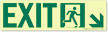 GlowSmart™ Directional Exit Sign, Arrow Down Sign
