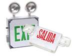 Combination Exit Signs | Emergency Lighting