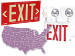State Specific Exit Signs