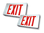 Steel Exit Signs
