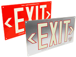 UL 924 Listed Exit Signs