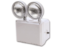 TFX Wet Location Rated Two-Head Emergency Light