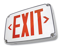 Location Led Exit Sign