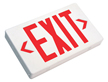 Universal LED Exit Sign, Battery Backup