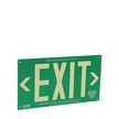 AlumaGlow™ Exit Sign, Flat Surface Mount