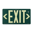 Eco Plastic Exit Sign