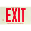Unframed Exit Sign