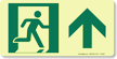 GlowSmart™ Directional Exit Sign, Up Arrow