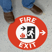 Fire Exit, Right Arrow