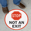 Stop Not an Exit
