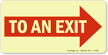 To An Exit (Arrow Right)