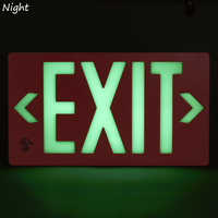 Visible at 50 feet or 100 feet Exit Sign