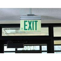 Acrylic Green Exit Sign