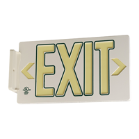 Green Molded Exit Sign