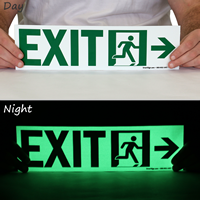 Directional Exit Signs, Arrow Right