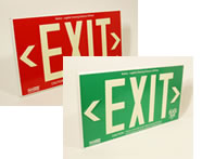 Choose the Right Colors for your Exit Signs